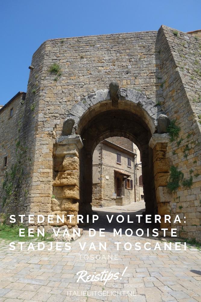 Een stedentrip Volterra: een van de mooiste stadjes van Toscane