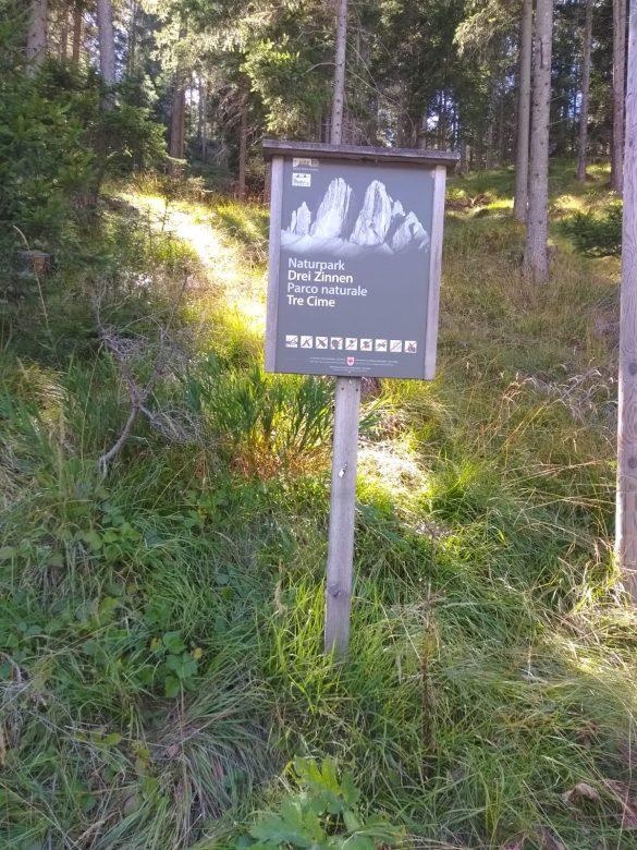 Naturpark Dei Zinnen / Parco Naturale Tre Cime