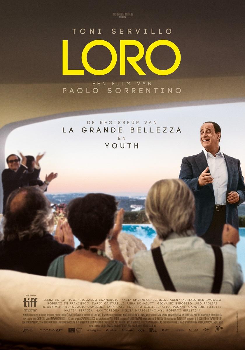 Filmposter van Loro door Paolo Sorrentino