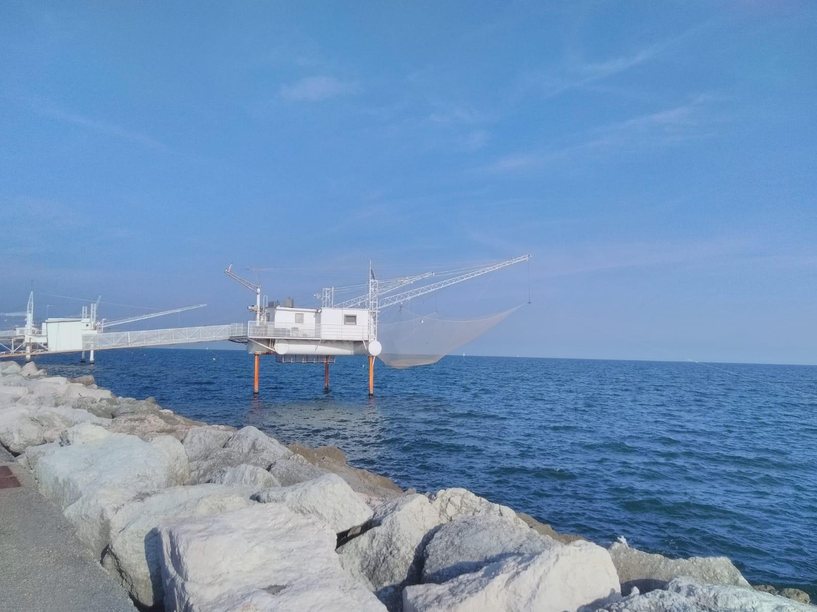 Marina di Ravenna, Adriatische kust