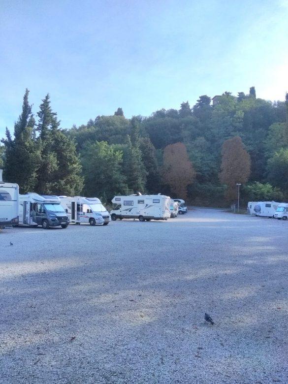 Kamperen in Volterra
