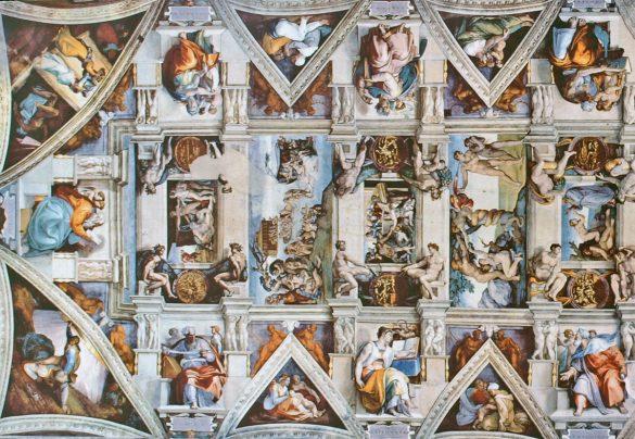 De Sixtijnse Kapel in Rome