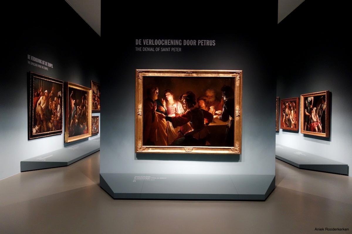 De verloochening door Petrus. Utrecht, Caravaggio en Europa, Centraal Museum Utrecht