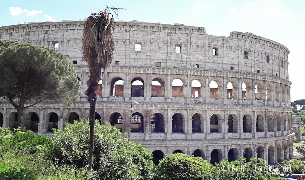 De eeuwige stad Rome in Lazio. Foto door dreamtheworld.nl