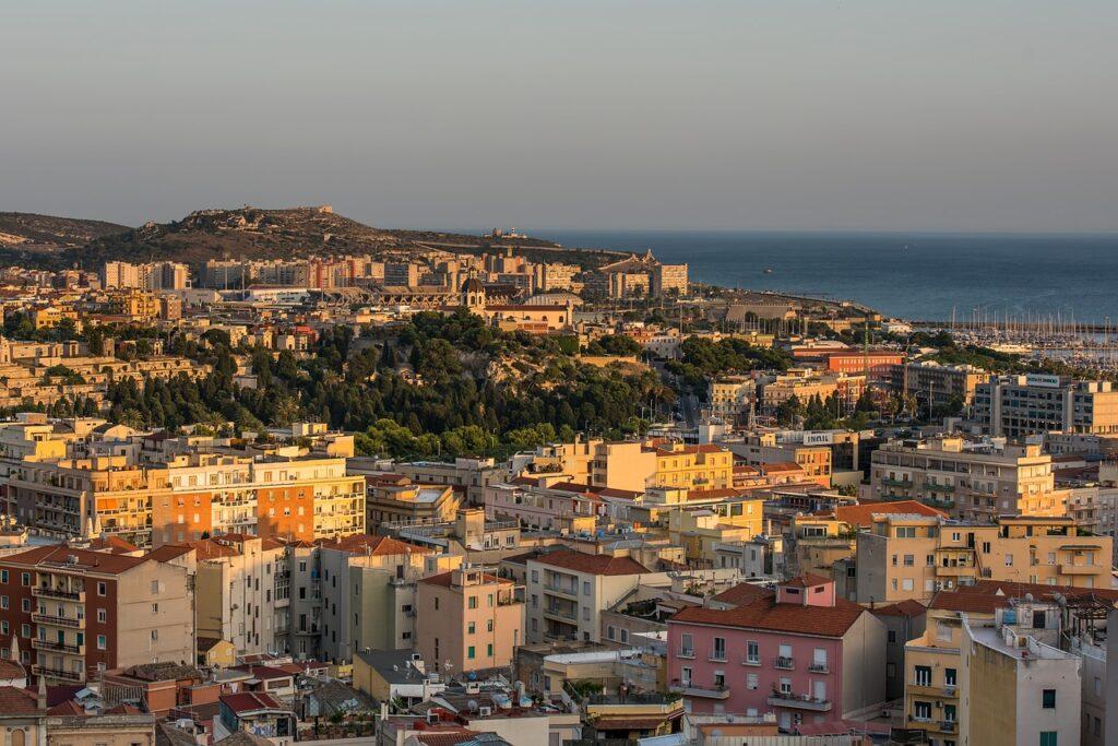 Hoofdstad Cagliari