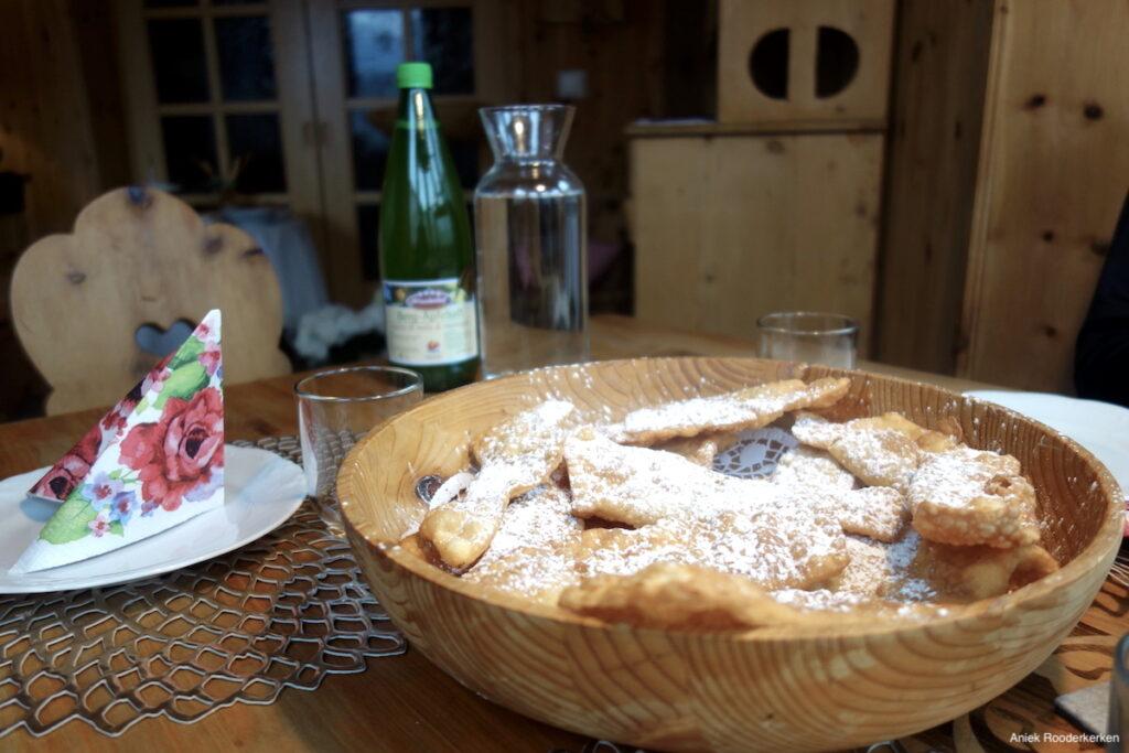 Misschien wel de beste Bauernkrapfen in Zuid-Tirol!