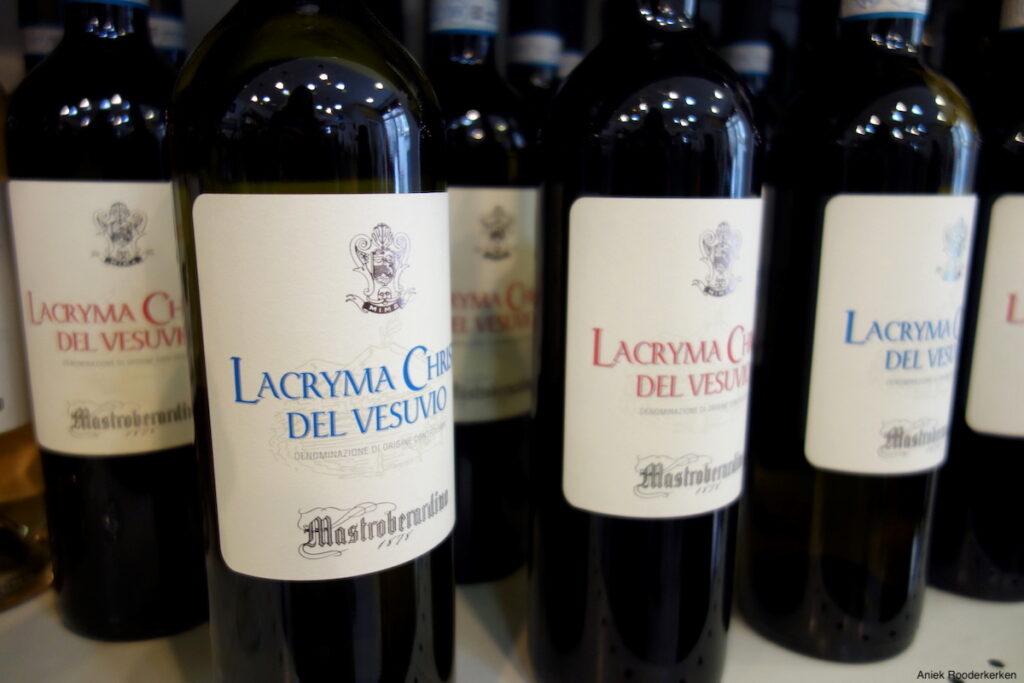 Niet geproefd, wel bijzonder: wijn van de Vesuvius