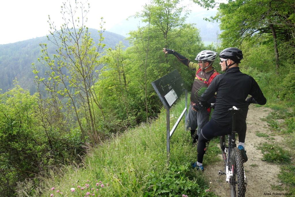 Mountainbike met Konrad van de Häuslerhof