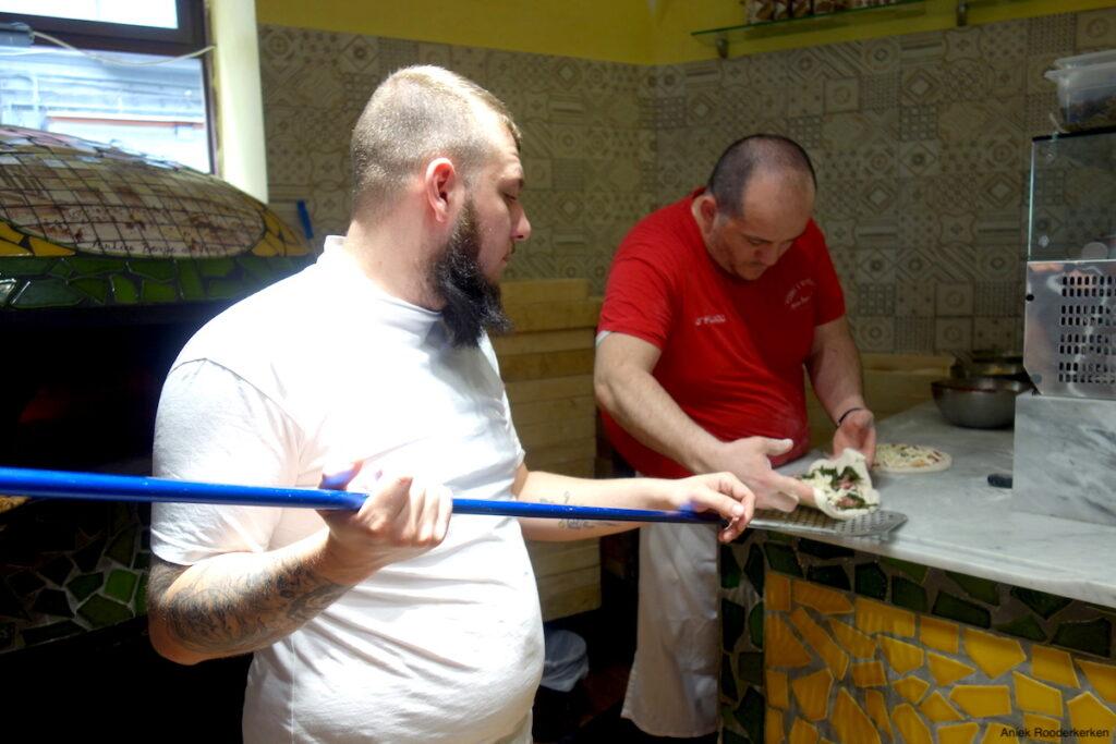 Pizzeria Antico Borgo dei Vergini in Napels