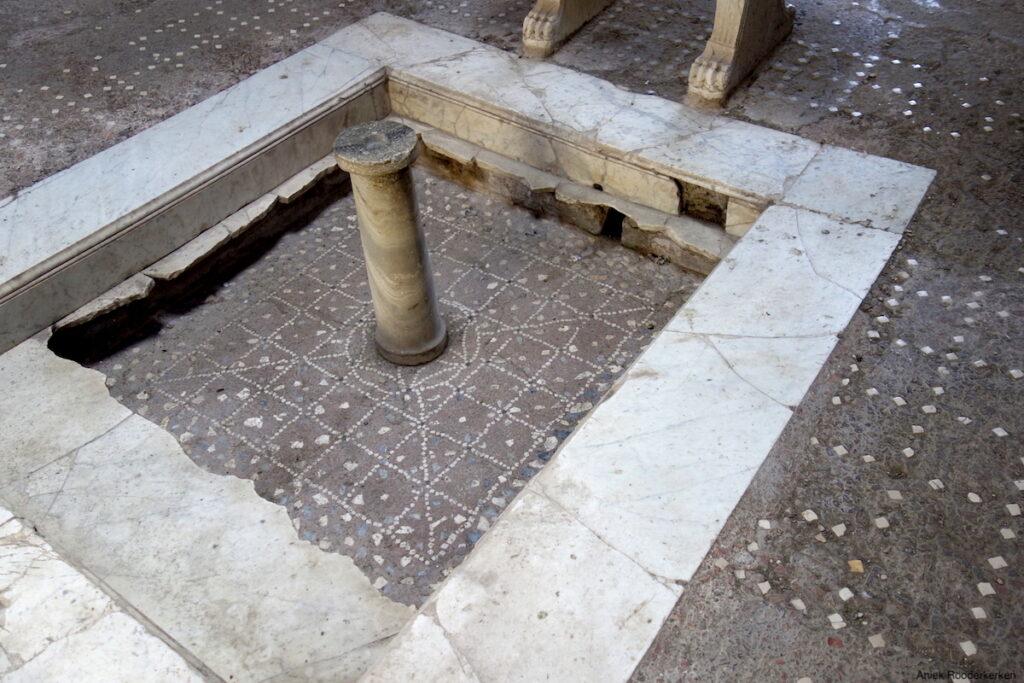 Herculaneum, huis met atrium