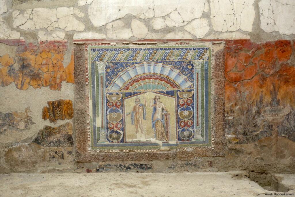 Huis van Neptunus en Amphitrite in Herculaneum