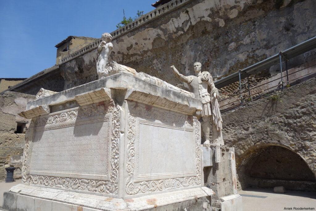 Herculaneum, Italië, Napels