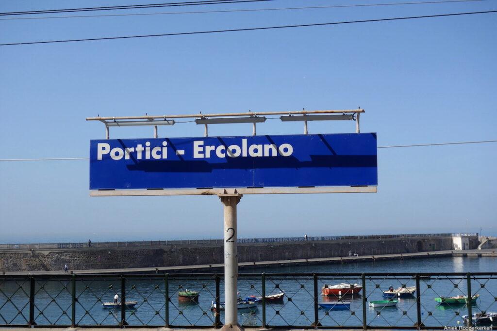 Station Portici Ercolano