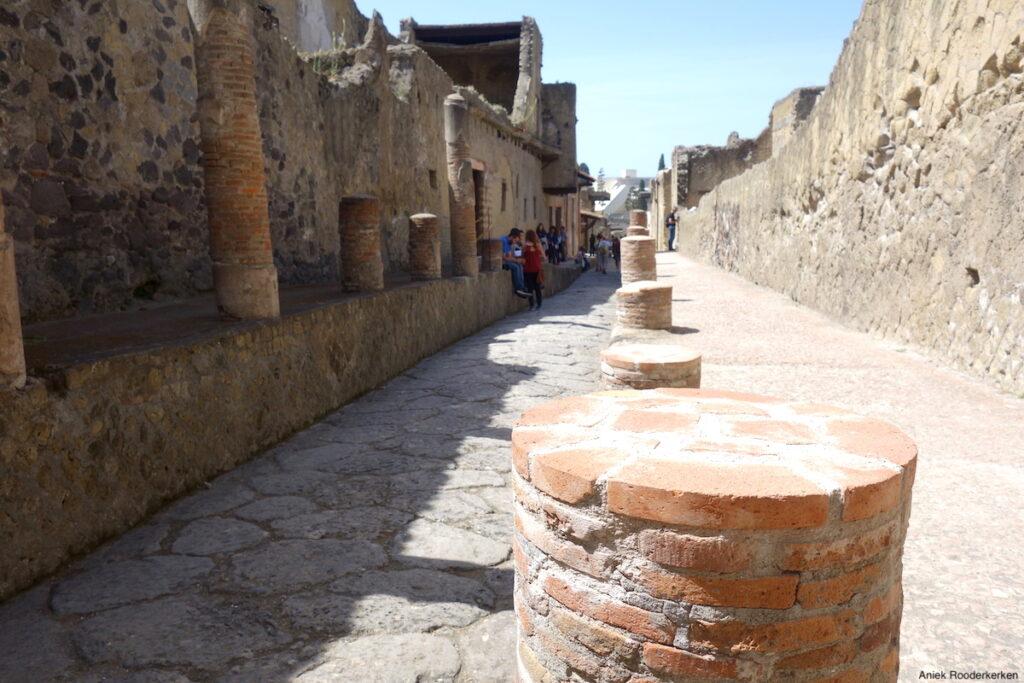 Straat in Herculaneum