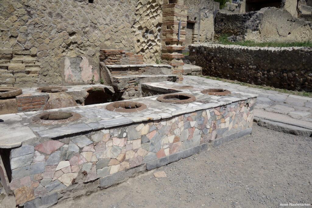 Thermopolium in Herculaneum