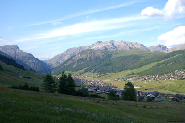 Livigno in de zomer