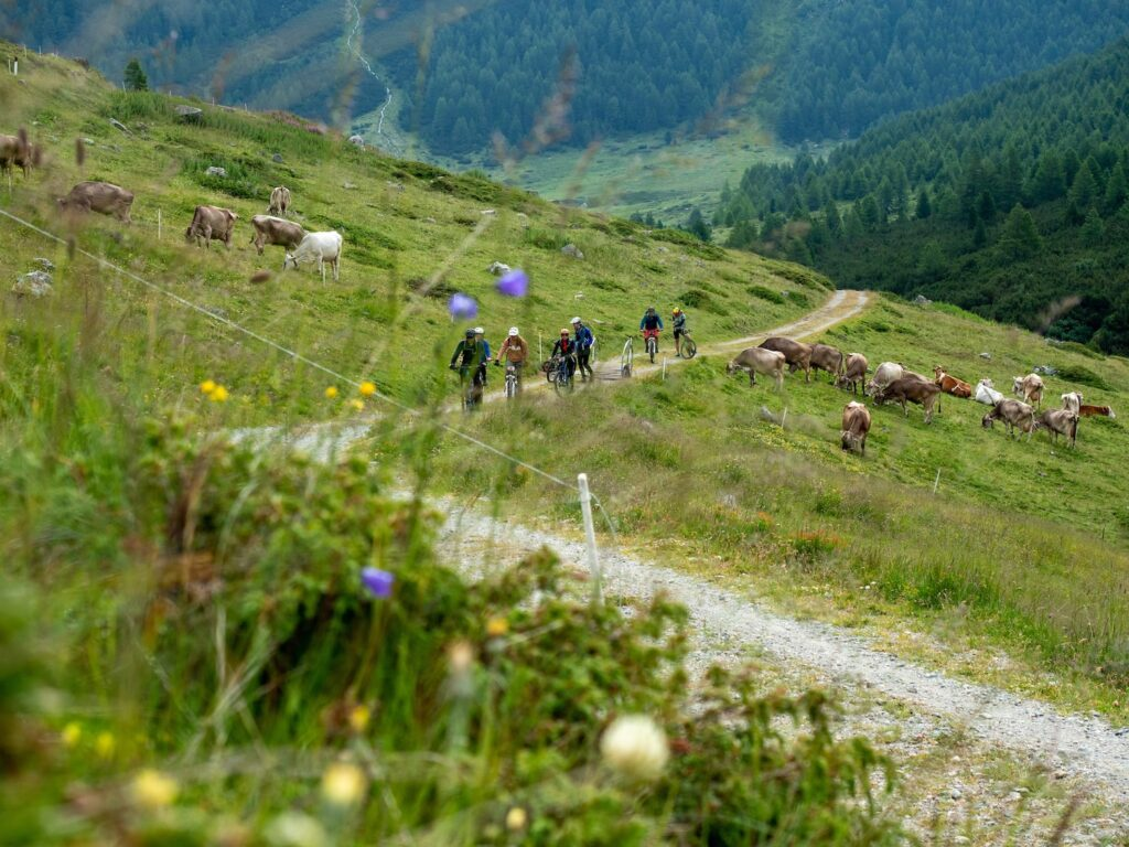 E-mountainbiken in Livigno, foto door Fabio Borga
