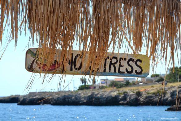 No stress.... werken in Italië