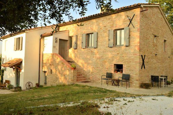 B&B Casa dei Colli in Mergo, Le Marche