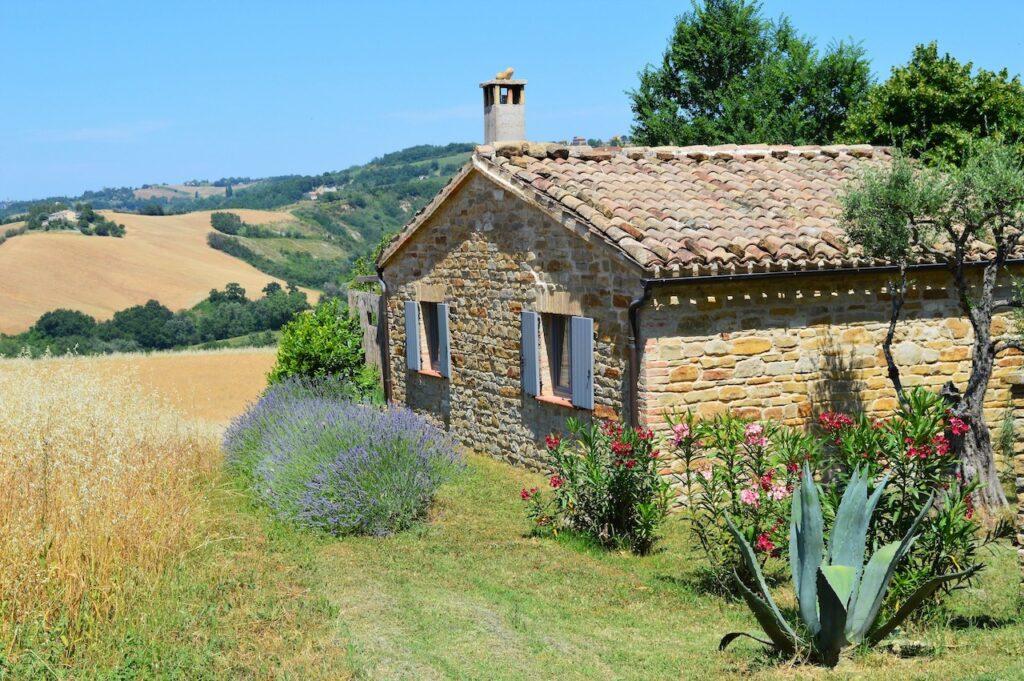 B&B en vakantiehuisjes Le Marche Casa dei Colli