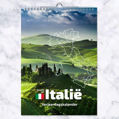 Voor de Italië-liefhebber: de Verslaafd aan Italië Verjaardagskalender