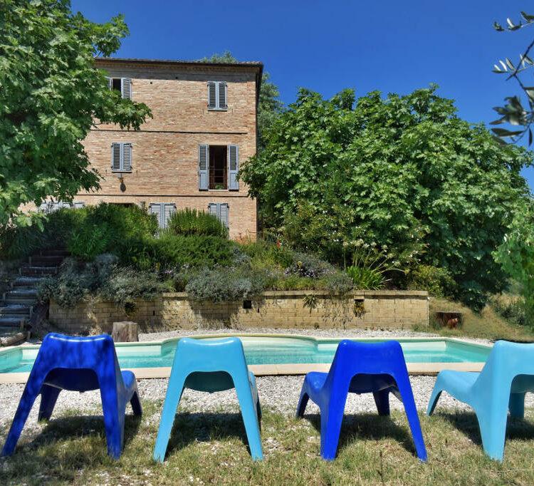 Casa Ciao Bella in Carassai, Le Marche