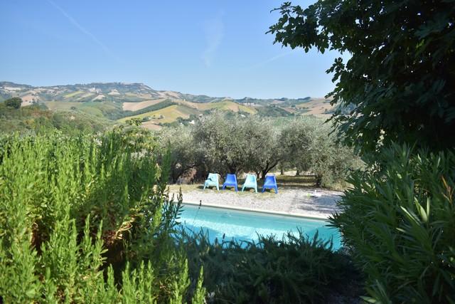 Zwembad bij Casa Ciao Bella