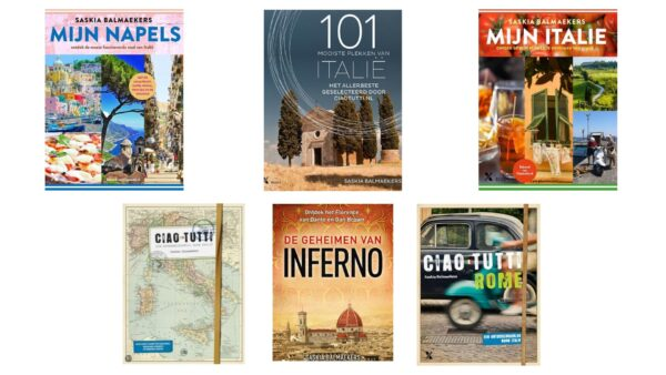 De Italië-boeken van Saskia Balmaekers
