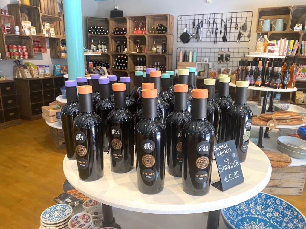 Dolianova wijn bij Savour Beetsterzwaag