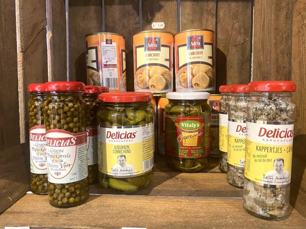 Mediterrane delicatessen