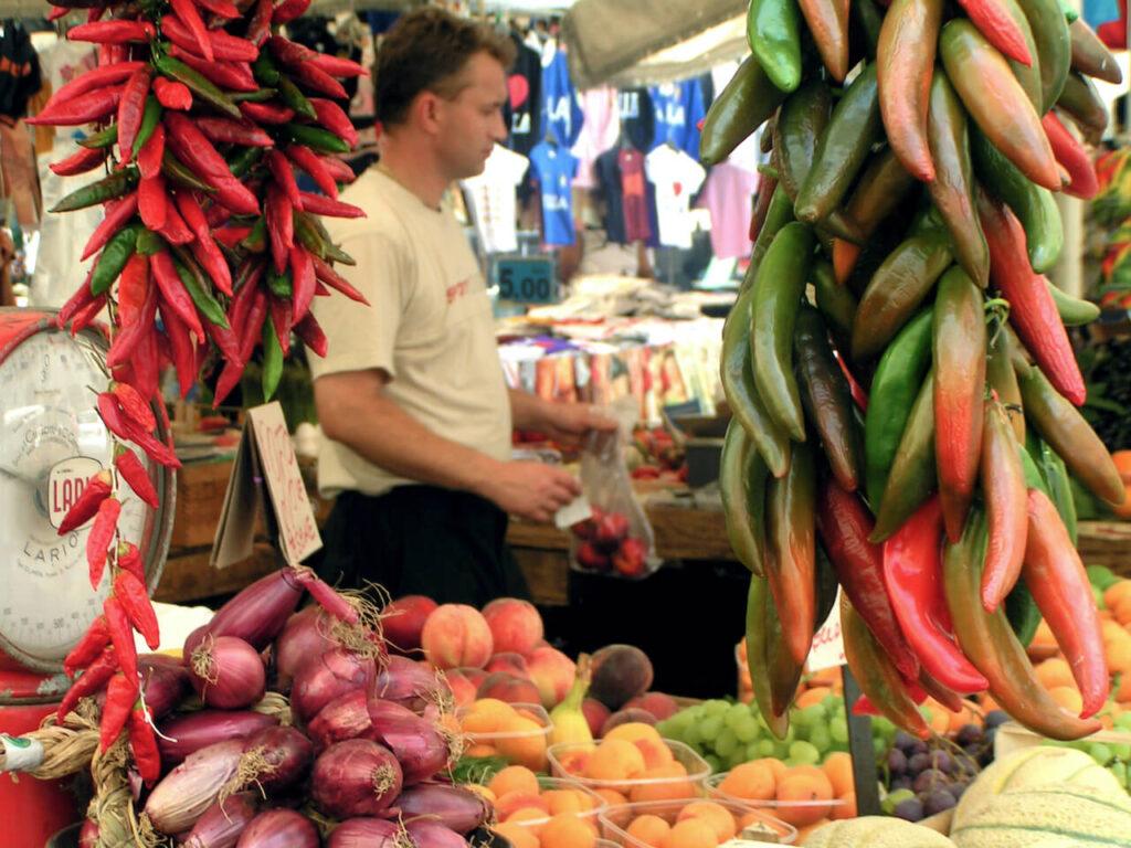Koop je kruiden op het Campo de' Fiori