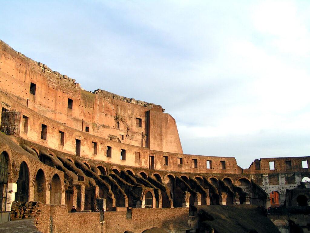 Bewonder het Colosseum