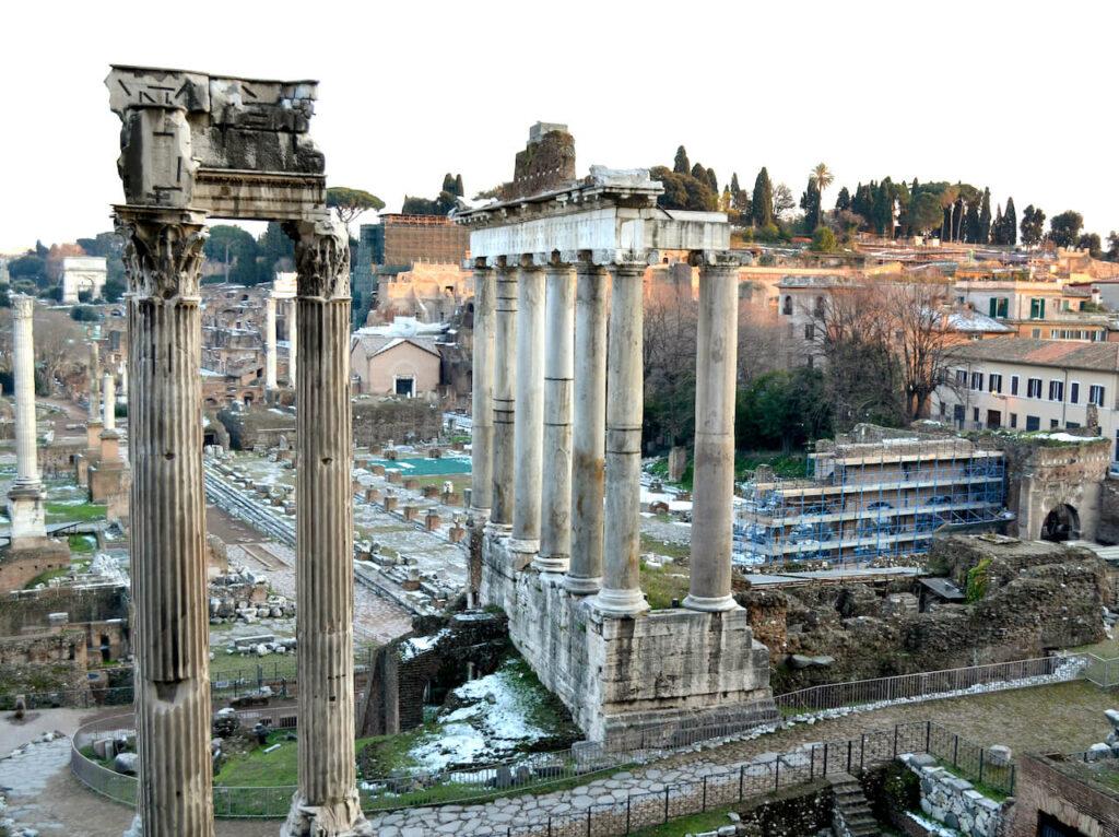 Struin door het Forum Romanum