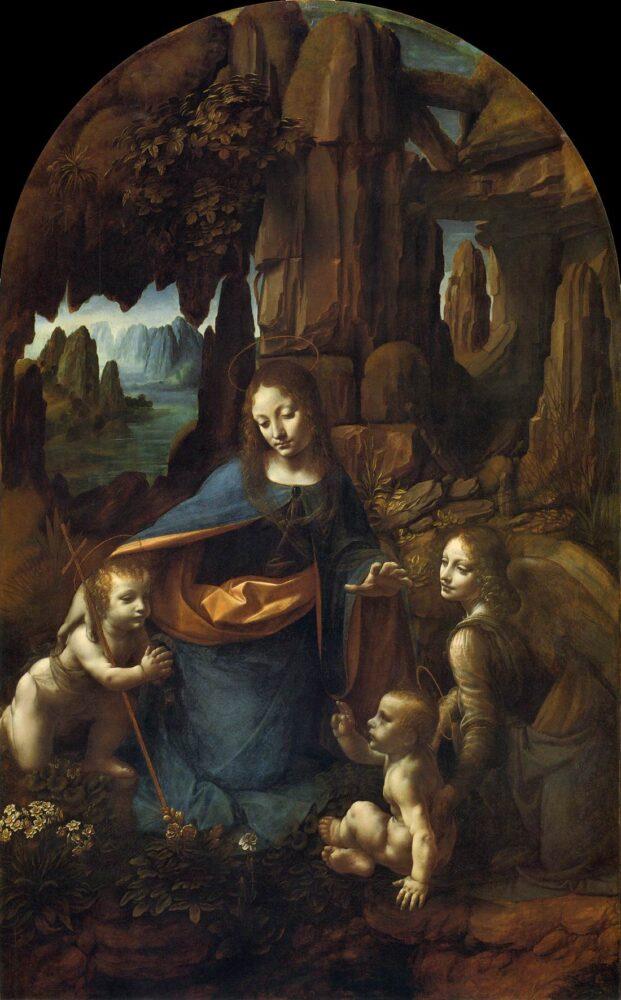 Madonna in de grot, Leonardo da Vinci