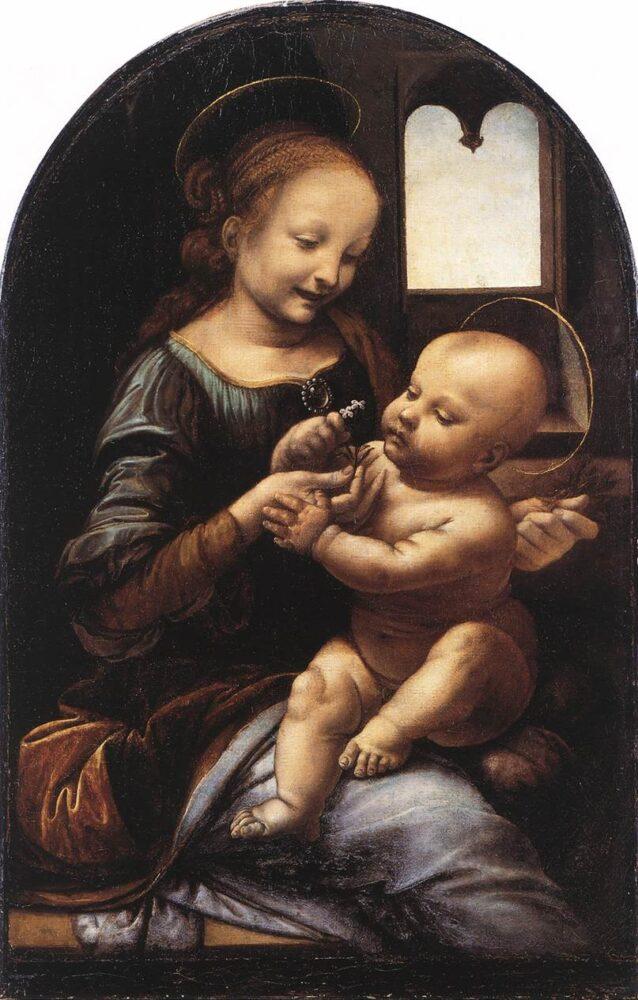 Benois Madonna, Leonardo da Vinci