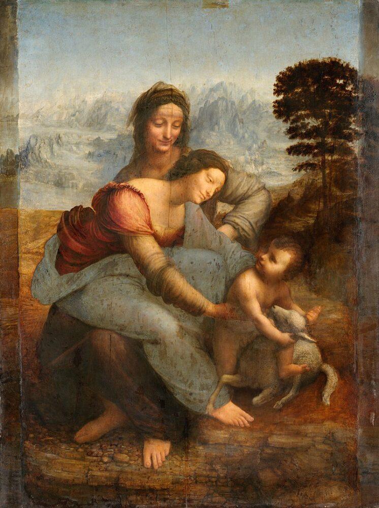 Madonna met Kind en St Anna, Anna te Drieën