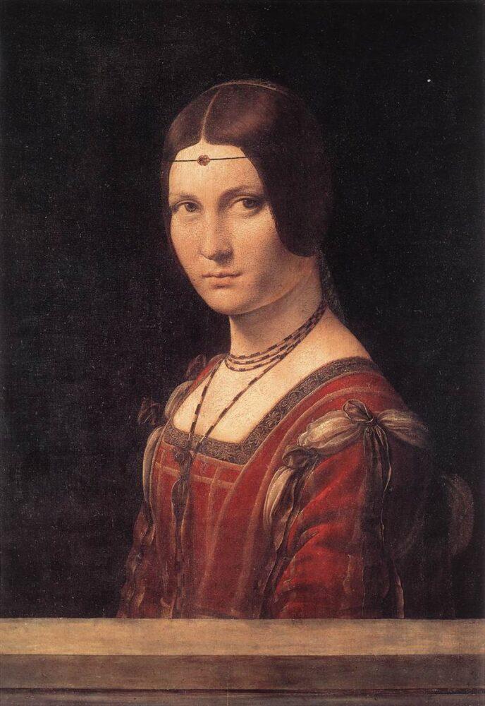 Portret van een Vrouw, La Belle Ferronière