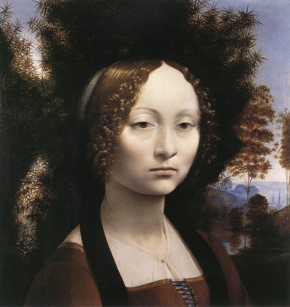 Leonardo Da Vinci, Ginevra de' Benci