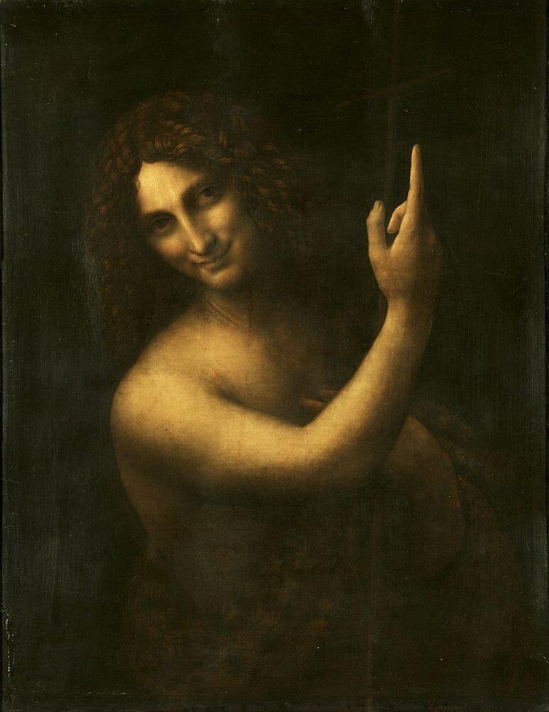 Leonardo da Vinci, Johannes de Doper