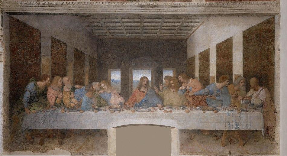 Laatste Avondmaal, Leonardo da Vinci