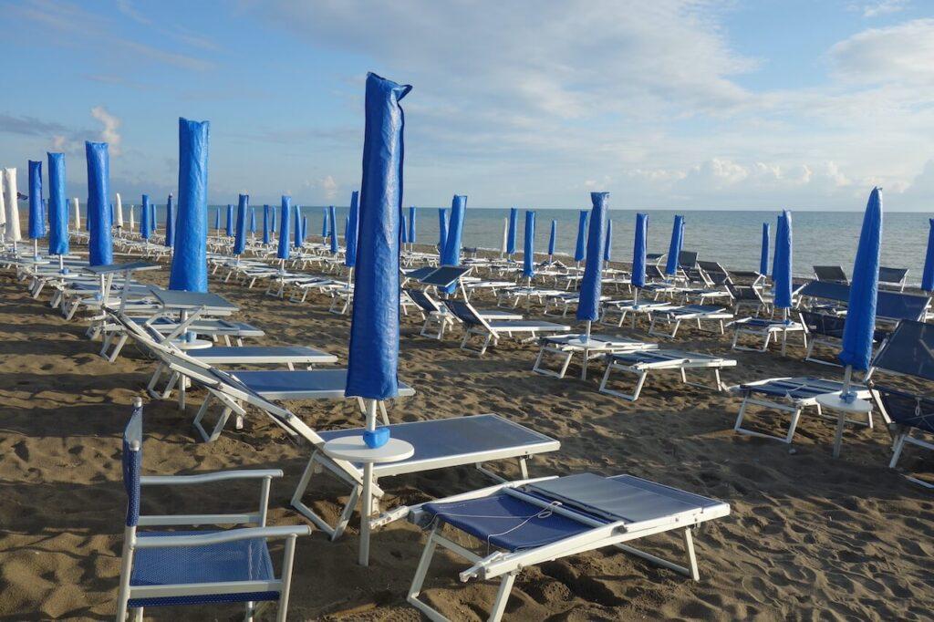 Aan de Toscaaanse kust