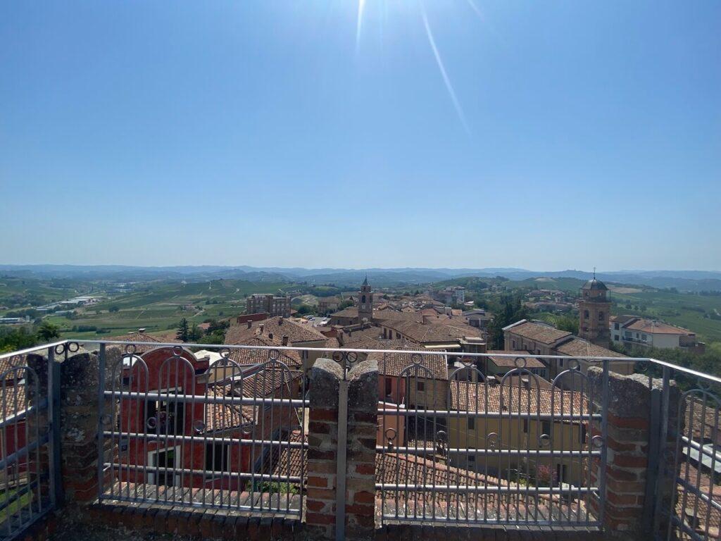 Torre dell'Antico Castello in Agliano Terme