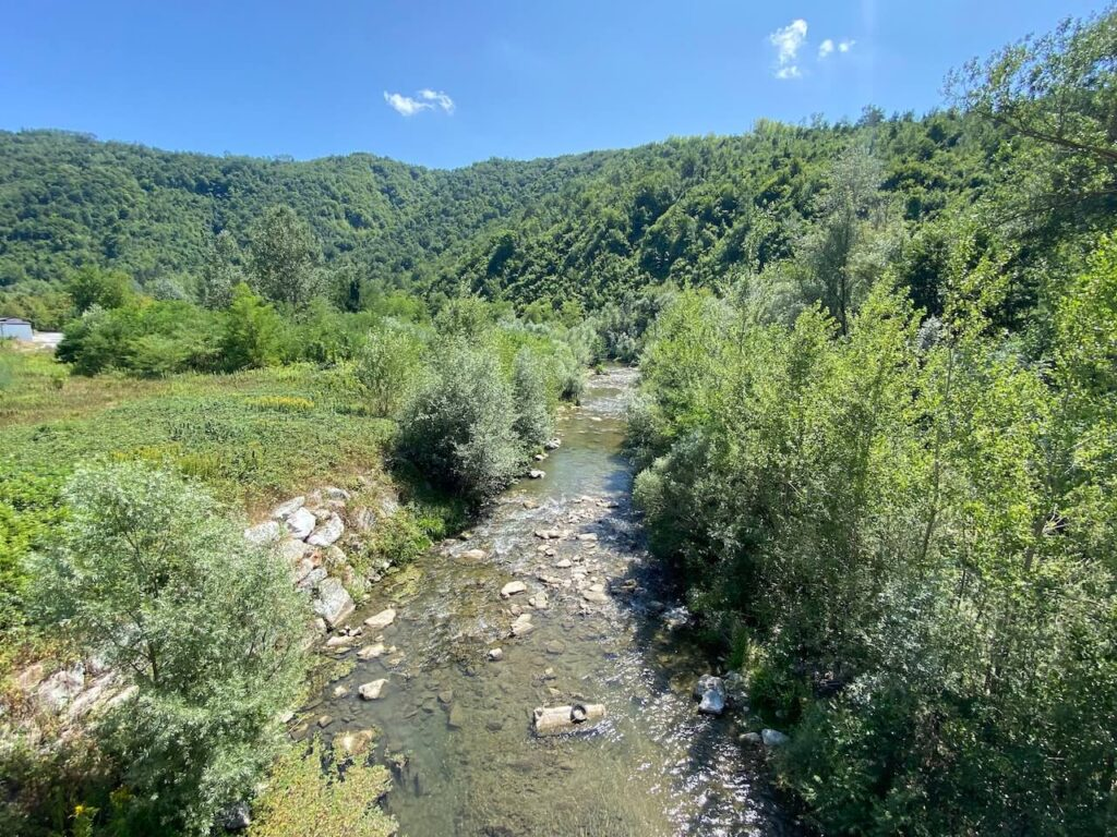 Riviertje in Piemonte