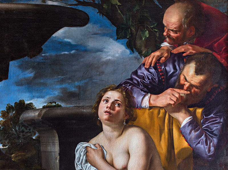 Artemisia Gentileschi, Susanna en de Ouderlingen, 1622 Burghley House collection