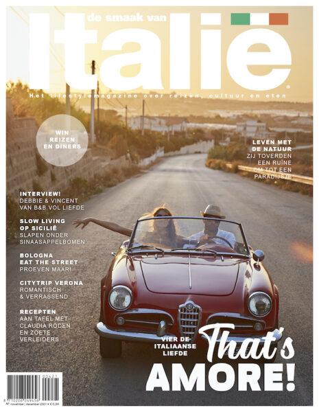 Cover De Smaak van Italie